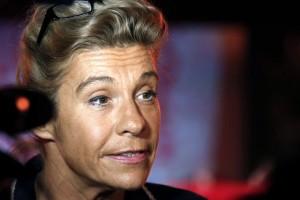 Frigide Barjot proclame la «victoire» des anti-mariage pour tous